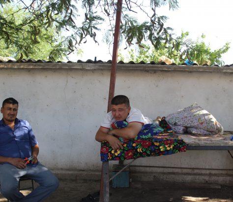 Ouzbékistan Dekhanabad Termez Sieste Chaleur