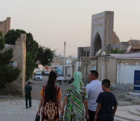 En famille à Boukhara
