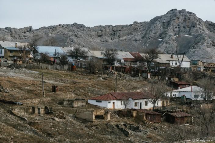 Atchyssaï Kazakhstan Village URSS Plomb