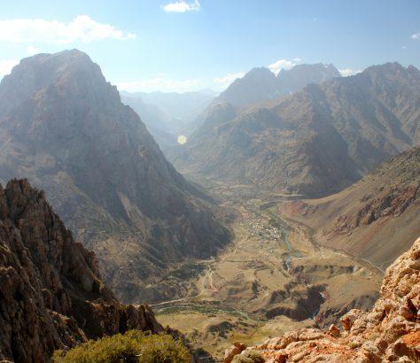 Tadjikistan Tourisme Sarytag Vallée Montagne