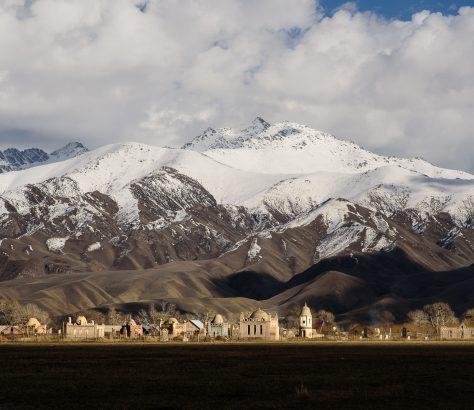 cimetire au Kirghizstan