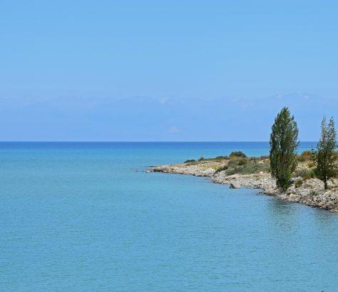 Issyk-Koul Kirghizstan Lac Nature