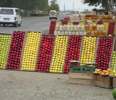 Fruits Ouzbékistan Marché