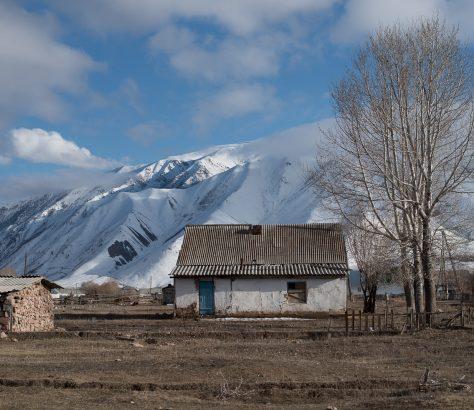 Kirghizstan Kojomkul Architecture