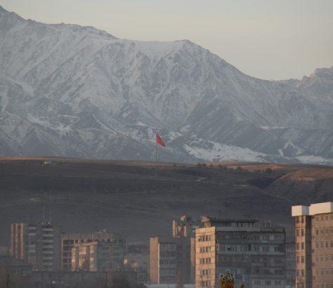 Bichkek Kirghizstan Panorama
