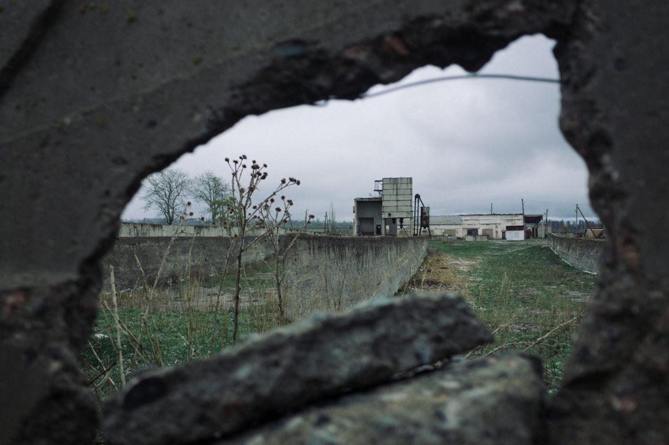 Kirghizstan Grigorievka Ruines URSS