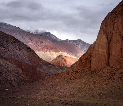 Kirghizstan paysage
