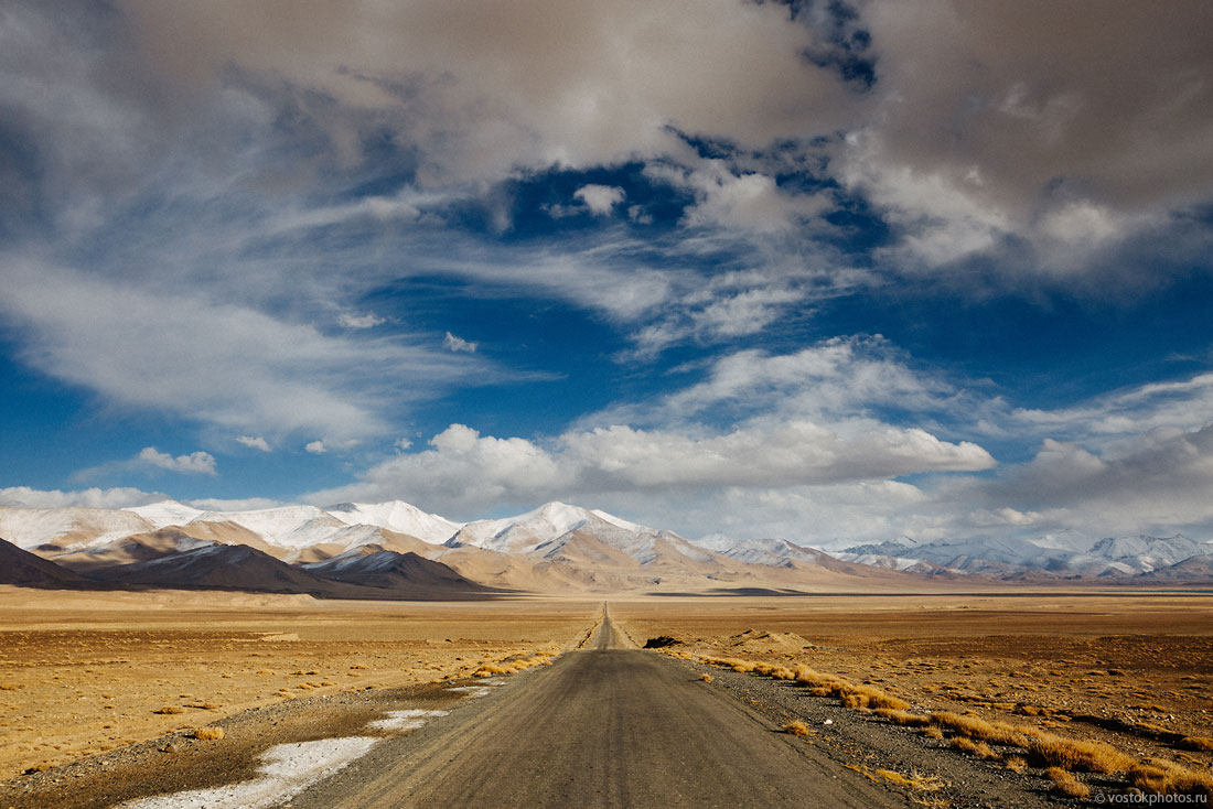 Tadjikistan Pamir Montagne Reportage Paysages Route