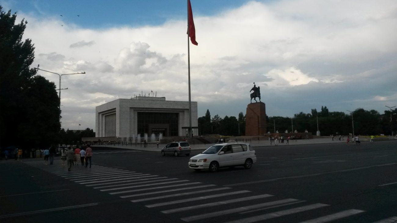 Bichkek Circulation Voiture Kirghizstan Pollution Air