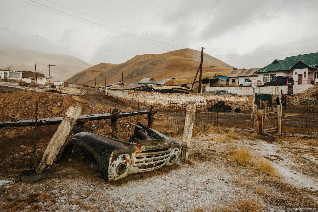 Kirghizstan Pamir Montagne Reportage Paysages Sary-Tach