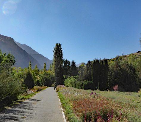 Khorog Pamir Jardin botanique Tadjikistan Ilaria Raïkova Environnement