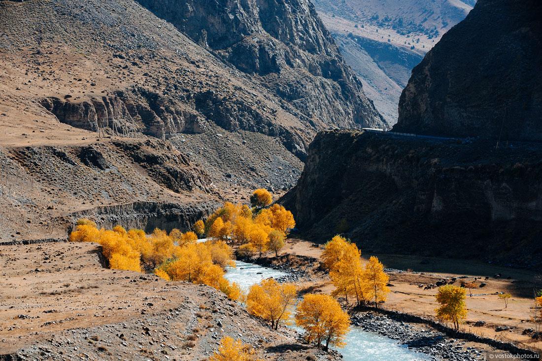 Kirghizstan Pamir Montagne Reportage Paysages Rivière