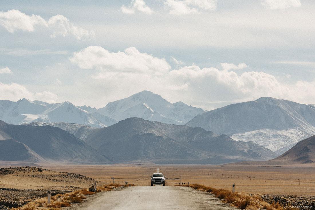 Tadjikistan Pamir Montagne Reportage Paysages Route Lac Karakoul