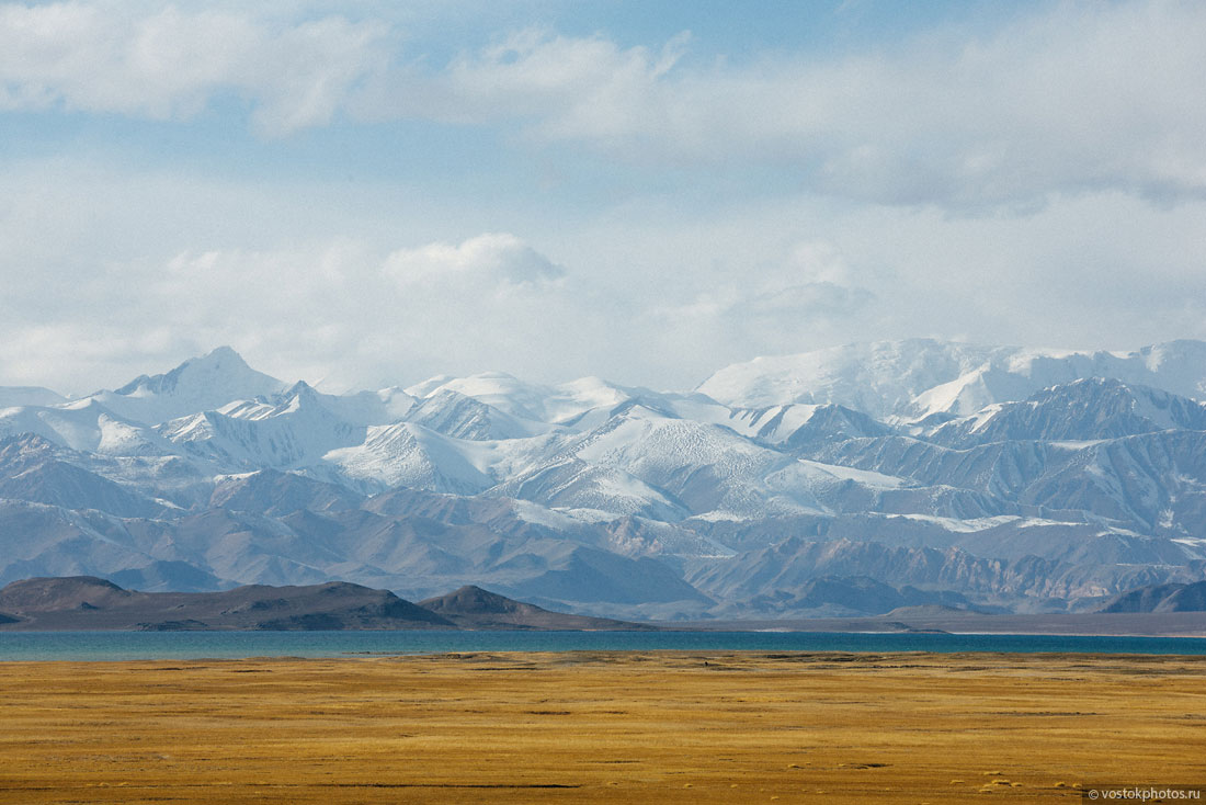 Tadjikistan Pamir Montagne Reportage Paysages Chaîne Karakoul LAc