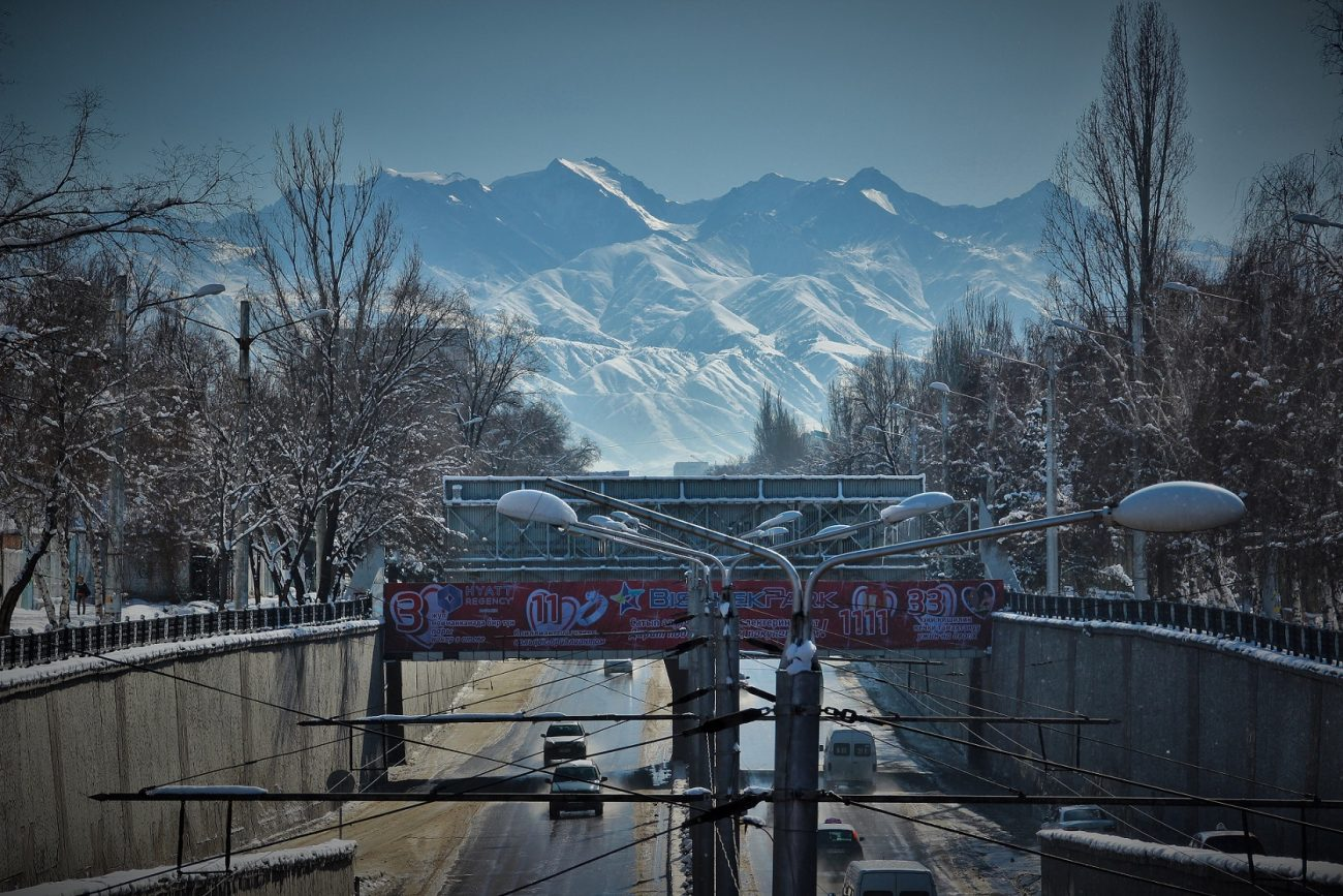 Bichkek Kirghizstan iver montagnes