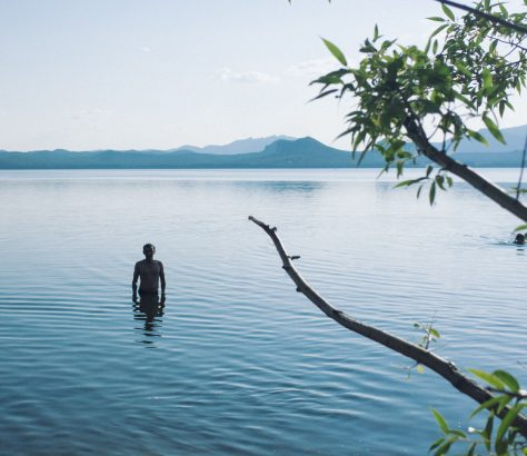 Lac du Borovoe Kazakhstan Portrait