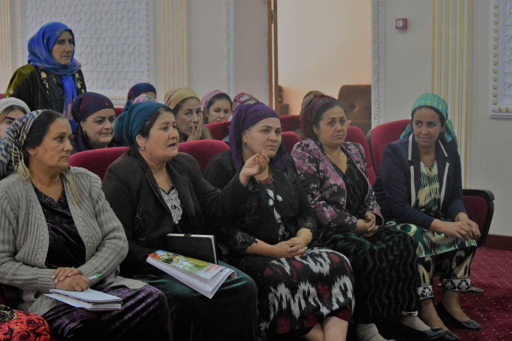Femmes campagne Tadjikistan