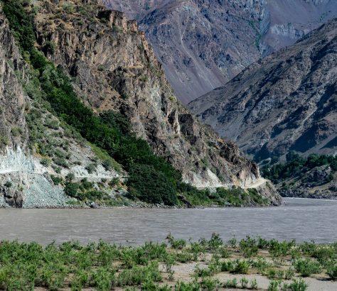 Panj Pianj Tadjikistan Afghanistan frontière