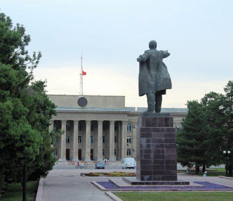 Statue déplacée