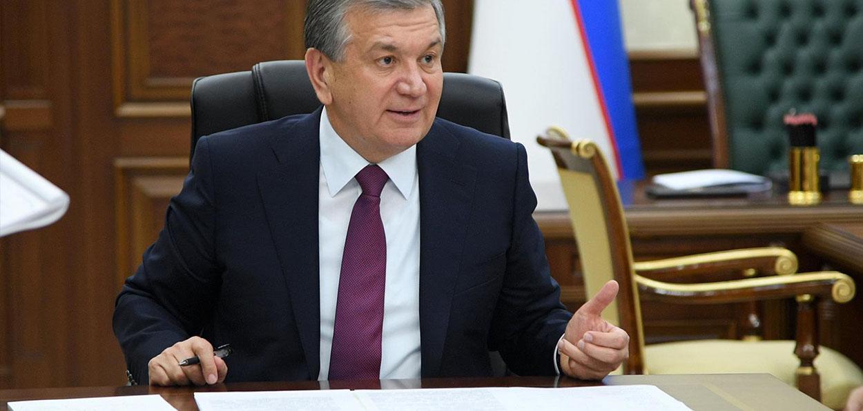 Chavkat Mirziyoiev président