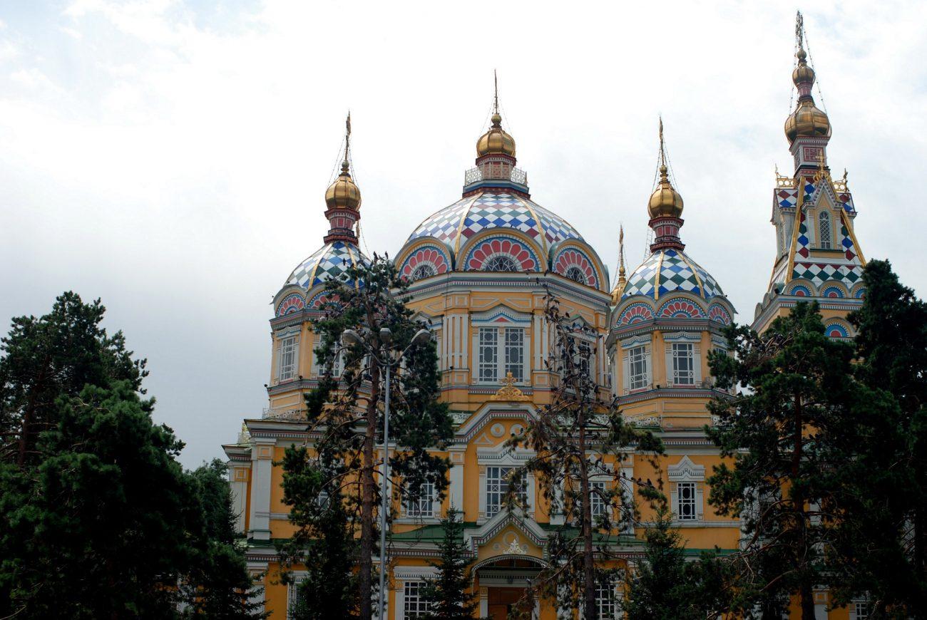 Cathédrale de l'Ascension du Christ Almaty Kazakhstan Architecture