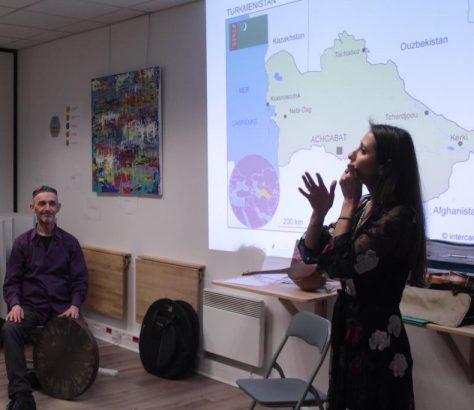 Leyli Karryeva Turkménistan Musique Culture