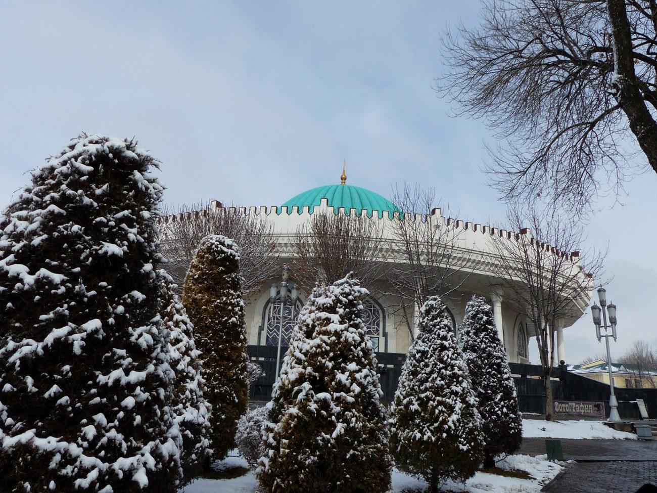 Musée Amir Timour Tachkent Ouzbékistan Neige Architecture
