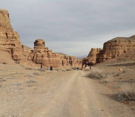 Canyon Charyn Kazakhstan Chine Frontière