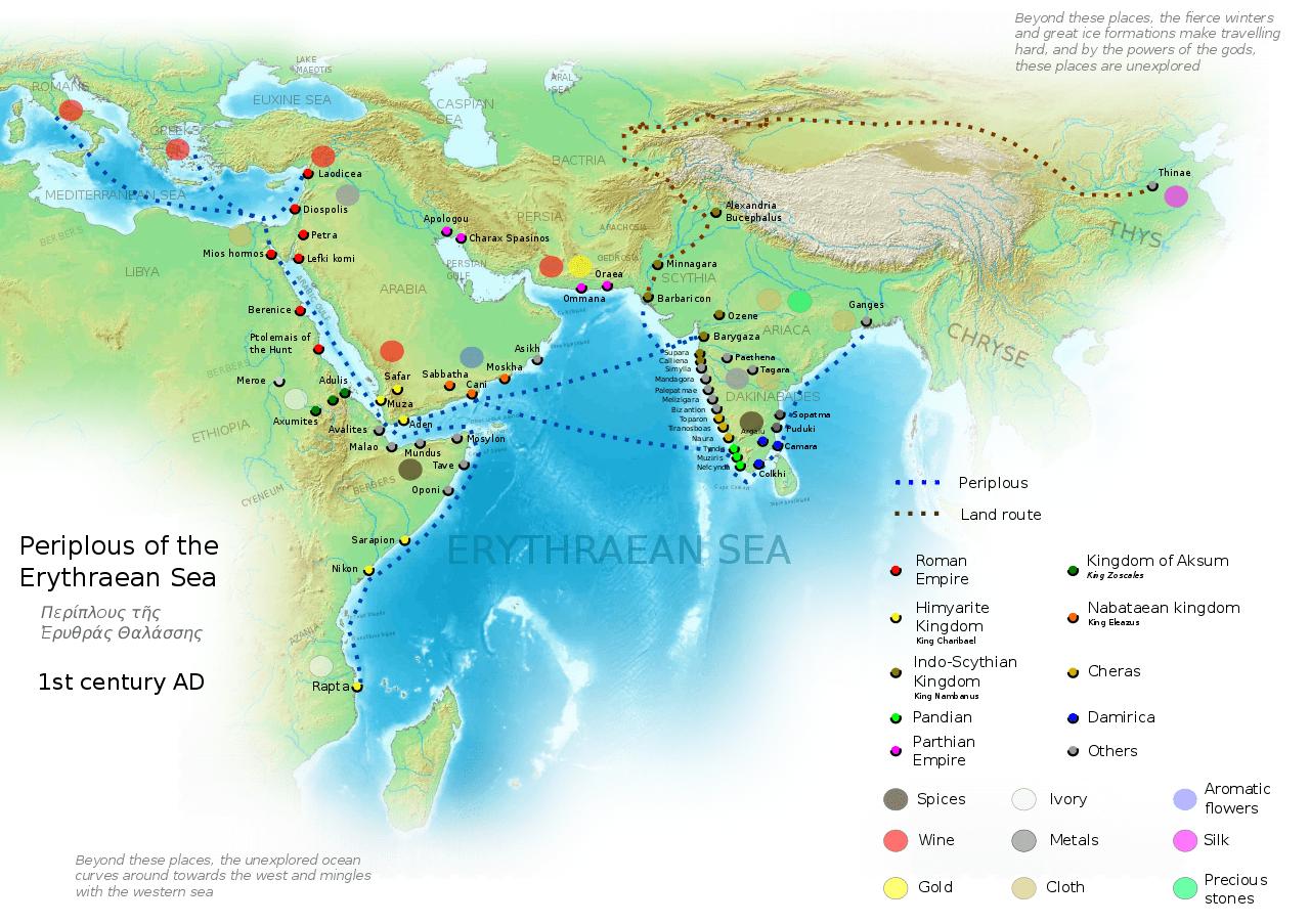 Route de la soie Carte trajets