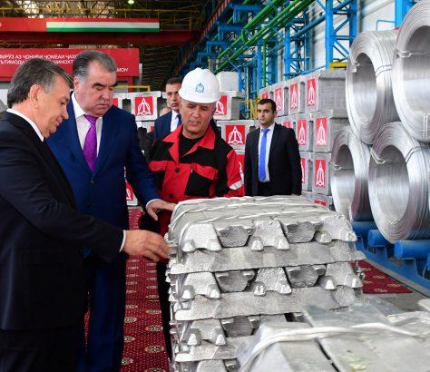 Chavkat Mirzioïev Emomalii Rahmon Tadjikistan Ouzbékistan Echanges commerciaux Commerce
