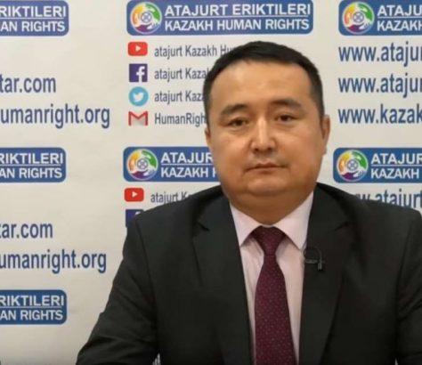 Serikjan Bilach Serikzhan Bilash Kazakhstan Région ouïghoure Xinjiang Arrestation Camps Chine