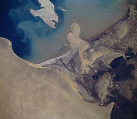 Amou-daria mer d'Arala étude scientifique âge