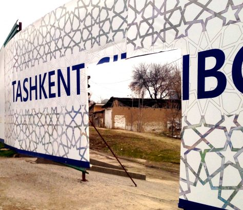 Tashkent City construction boom