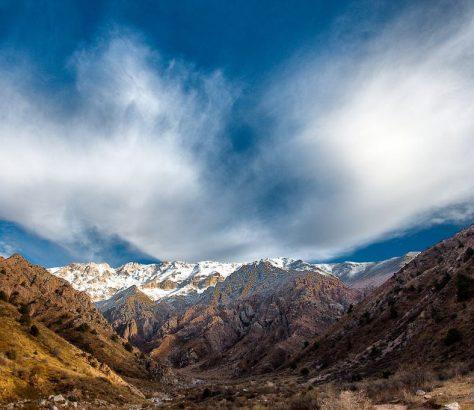 Chimgan Crête Sommets Ouzbékistan Photo du Jour