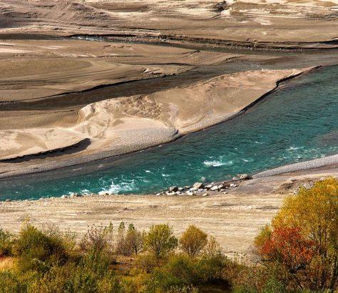 Tchatkal Ouzbékistan Rivière Photo du Jour