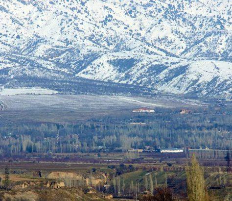 Crête Mont Tchimgan Photo du Jour Ouzbékistan