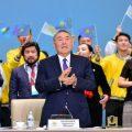 Noursoultan Nazarbaïev Larmes Pleurs Kazakhstan