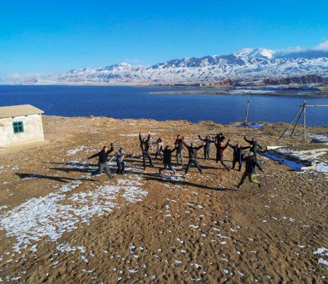 Organisateurs Festival Musique Kol-Fest Rive Sud Issyk-Koul Kirghizstan