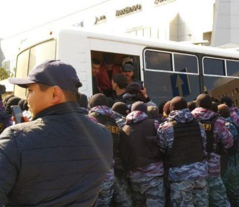 Kazakhstan Manifestation Premier mai 1er Politique Présidentielle
