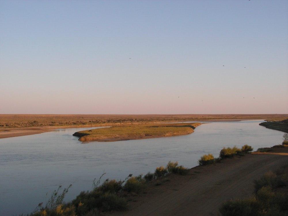 Syr-Daria Mer d'Aral modification Delta Fleuve