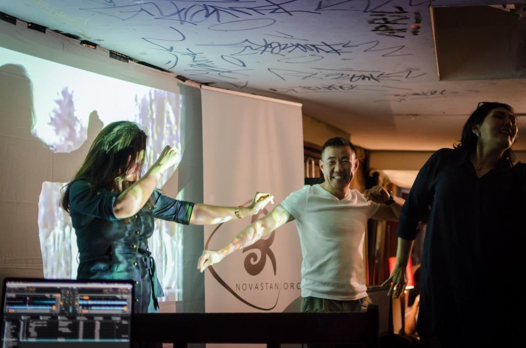 Dance with the Stans Paris Gambetta Club Asie centrale soirée Novastan France Danse