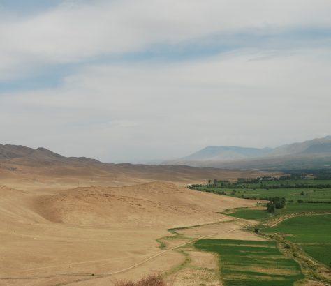 Kirghizstan Vallée de Talas Tchingis Aïtmatov Paysage