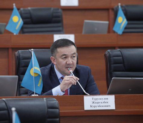 Zhyrgalbek Tourouskoulov Leader Parti Politique Parlement Respoublika Ata-jourt Kirghizstan