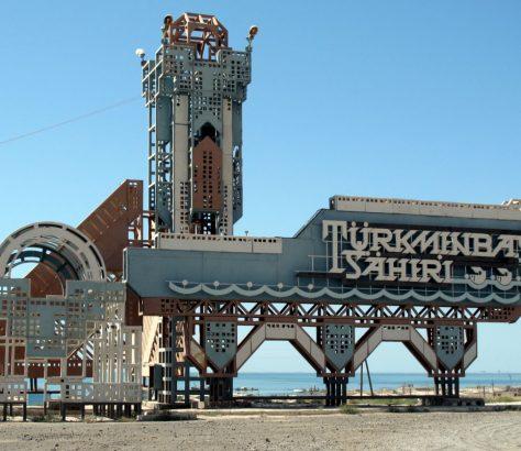 Turkmenbasy Turkmenistan Mer Caspienne Nyyazow