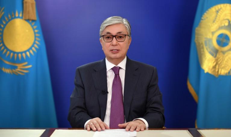 Kazakhstan Kassym Jomart Tokaiev Président Kazakh