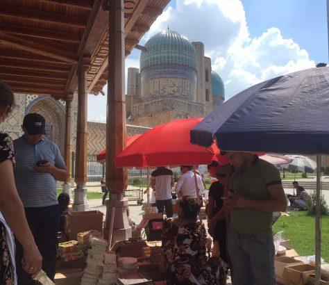 Ramadan Sarmarcande Ouzbékistan Photo du Jour