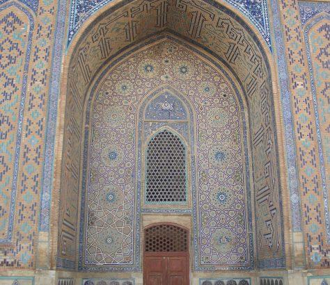 Mausolée Yasavi Turkestan Kazakhstan Bild des Tages