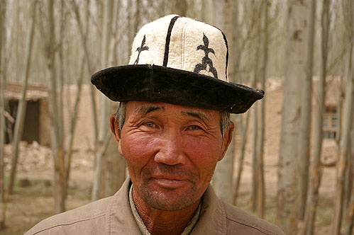 Kirghiz Ak-Kalpak Chapeau Traditionnel