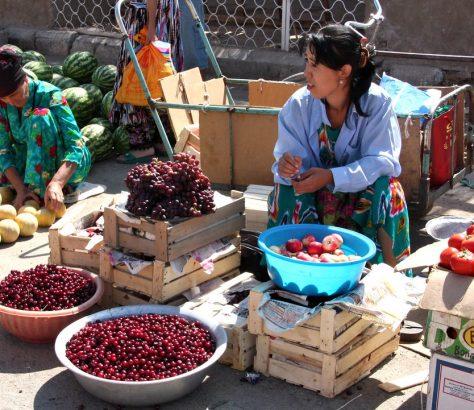 Ouzbékistan Chine Etats-Unis Exportations Cerises Produits agricoles