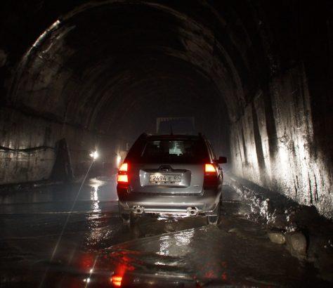 Intérieur Tunnel Anzob Horreur 2012